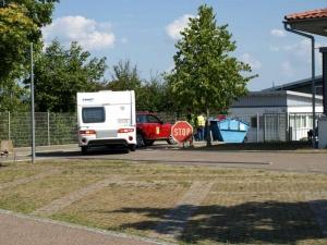54. Deutsche Meisterschaften im Caravan-Geschicklichkeitsfahren