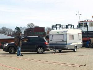 Frauenübungsfahren @ Wasser- und Schifffahrtsamt Minden